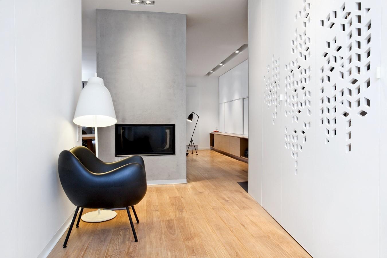 Spacelab agnieszka deptu a architekt pozna puszczykowo for Hall design for medium family
